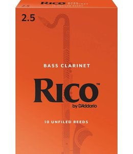 Rico Rico Bass Clarinet Reeds, Box of 10
