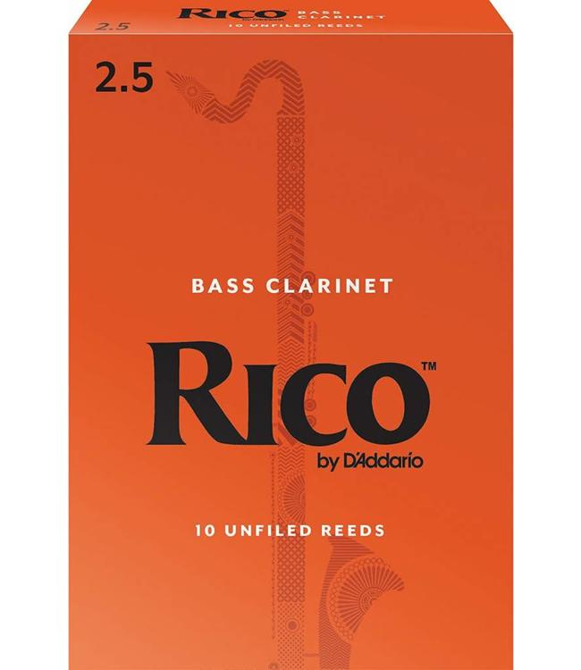 Rico Rico Bass Clarinet Reeds, Box of 10