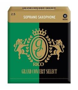Rico Rico Grand Concert Select for Bb Soprano Sax, Box of 10