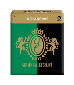 Rico Rico Grand Concert Select for Alto Saxophone, Box of 10