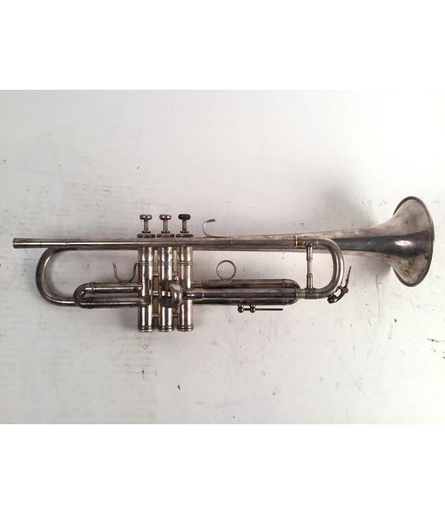 Benge Used  LA Benge 3X  Bb trumpet in silver plate