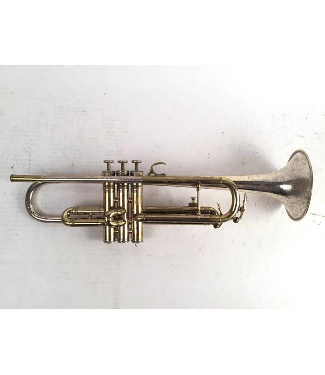 """King Used King Super-20 """"Symphony"""" Silver Sonic Bb Trumpet"""