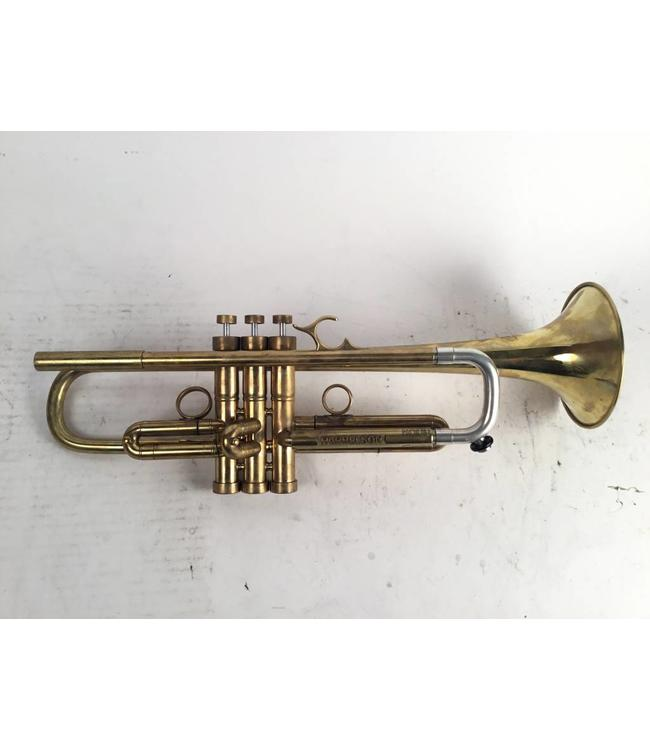 Harrelson Used Harrelson (Hybrid) 909 Bravura Bb trumpet in raw brass