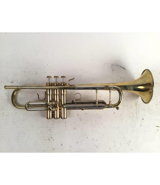 M.A. Wilk Brass Used M.A. Wilk Brass Custom Bb trumpet in raw brass