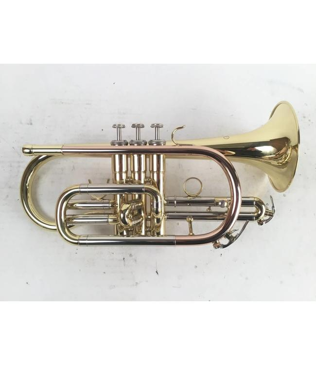 JZ Used JZ model Bb cornet in lacquer (SN: 900333)