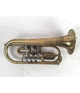 Leningrad Used Rotary Cornet in the key of A