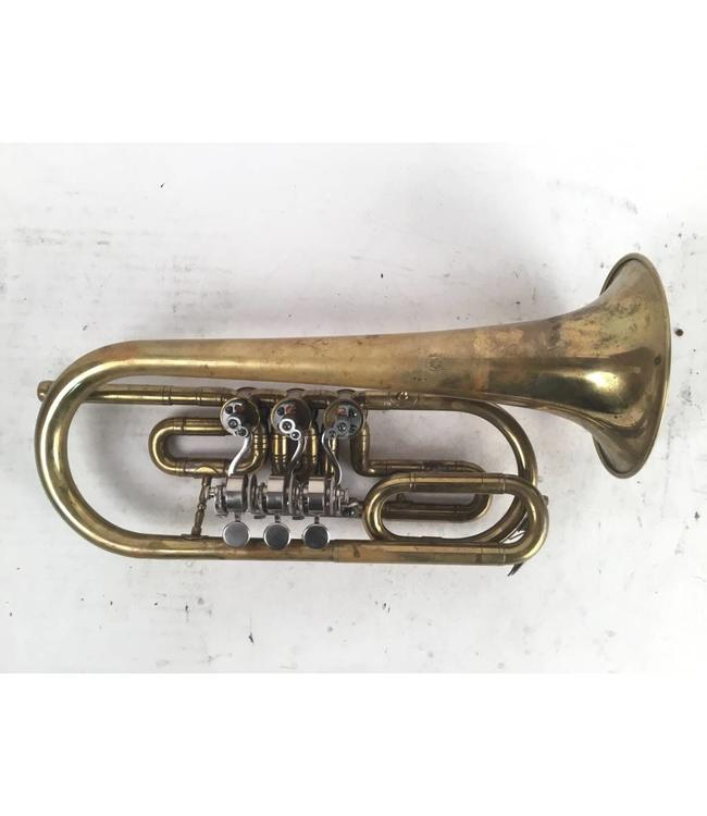 Miscellaneous Used Rotary Cornet in the key of A