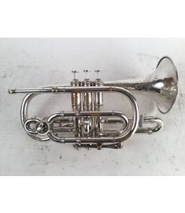 Boston Used Boston Engraved 3 Star Bb/A Cornet