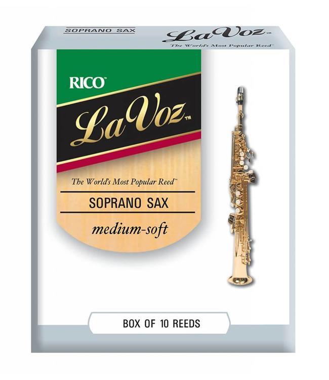 Rico Rico La Voz Soprano Saxophone Reeds, Box of 10
