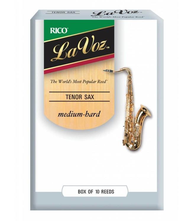 Rico Rico La Voz Tenor Saxophone Reeds, Box of 10