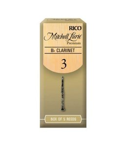 Rico Rico Mitchell Lurie Bb Clarinet Reeds, Box of 5