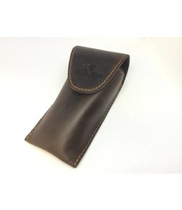 Dillon Music Dillon Brown Leather Trombone Single Mouthpiece Pouch