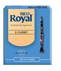 Rico Rico Royal E-Flat Clarinet Reeds, Strength 10 pack