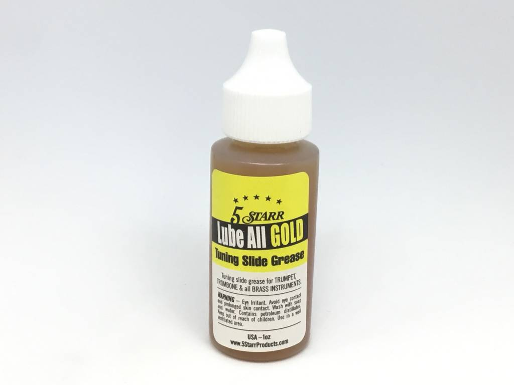 5 Starr Lube All Gold Tuning Slide Grease 1oz