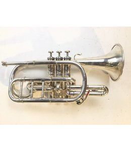 Besson Used French Besson Brevete Bb Cornet (SN: 78709)