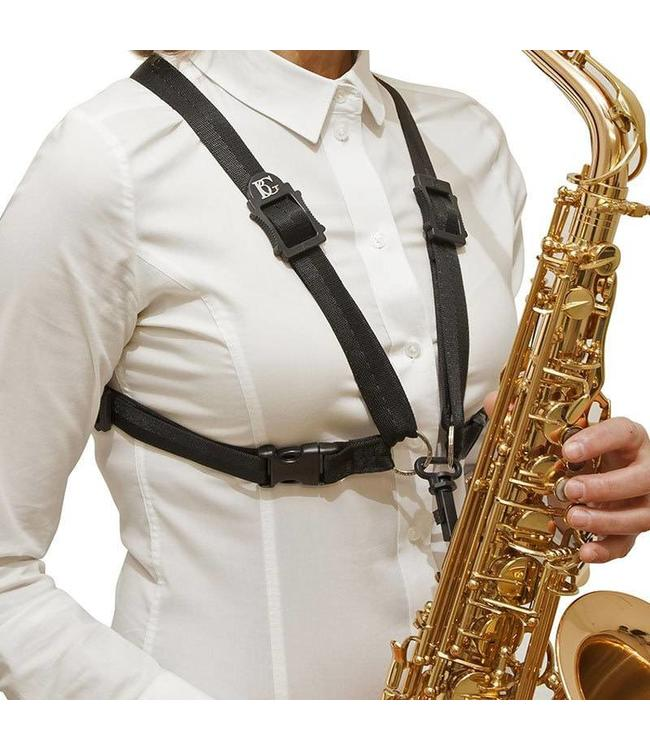 BG BG S41SH Ladies' Alto/Tenor Saxophone Harness with Snap Hook