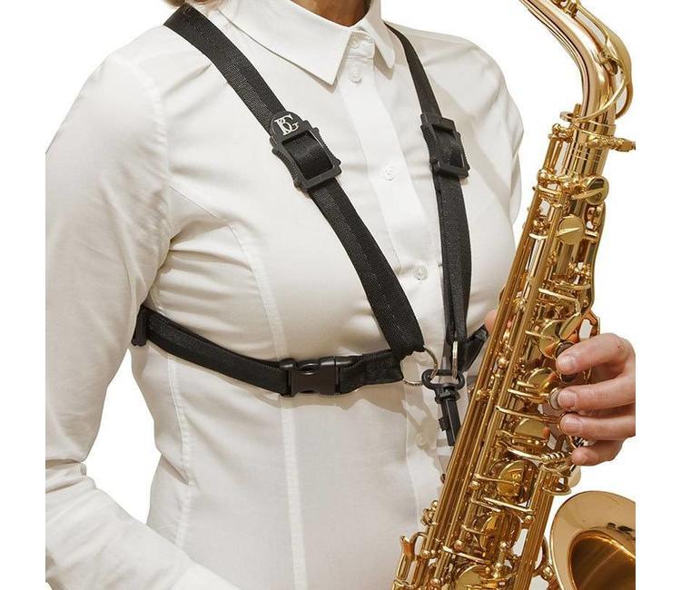 bg bg s41sh ladies alto tenor saxophone harness wi bg s41sh ladies' alto tenor saxophone harness with snap hook
