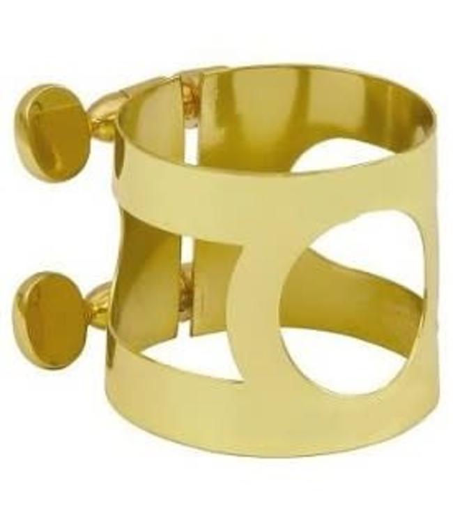 Conn-Selmer Alto Saxophone Ligature- Gold Lacquer