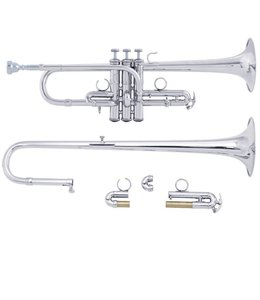 Bach Bach ADE190S D/Eb Trumpet Silver Plate