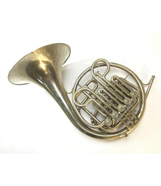 Paxman Used Paxman (Merewether) F/Bb Double French Horn with Stopping/Half Step 5th Valve in Nickel Silver Plating