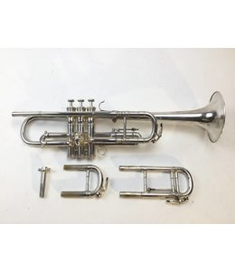 Besson Used French Besson Brevete C/Bb Trumpet