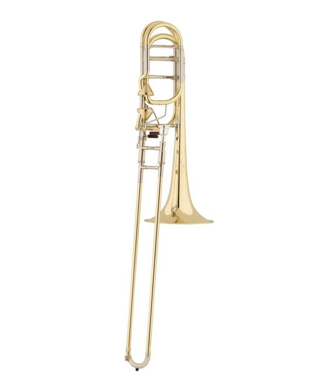 Shires S.E. Shires Lone Star Model Bass Trombone with Axial-Flow F/G♭ Attachment