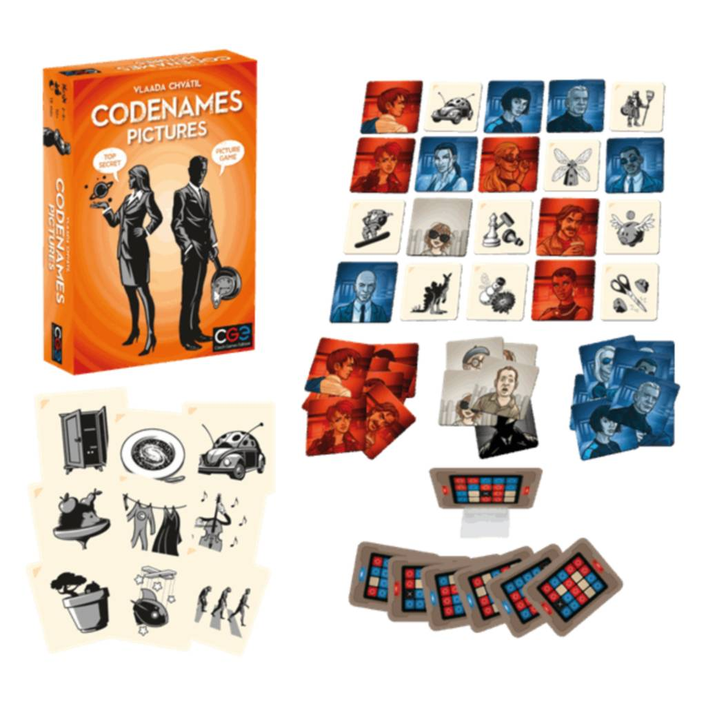 Czech Games Edition Codenames : Pictures