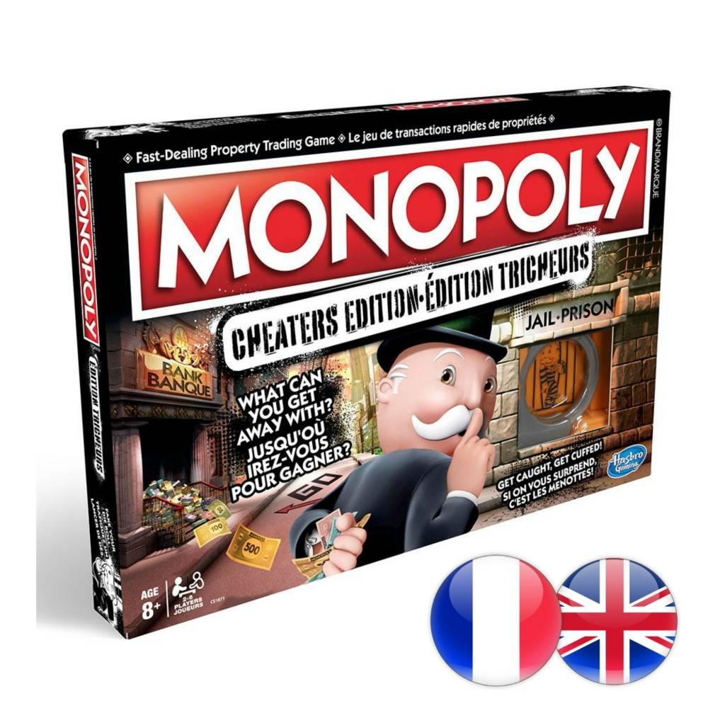Hasbro Games Monopoly édition Tricheurs