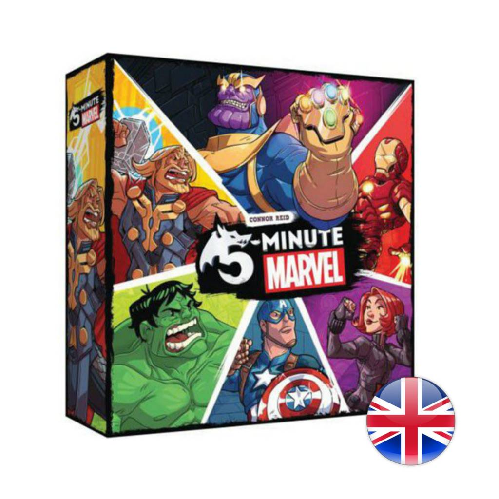 Spin Master 5 Minute Marvel