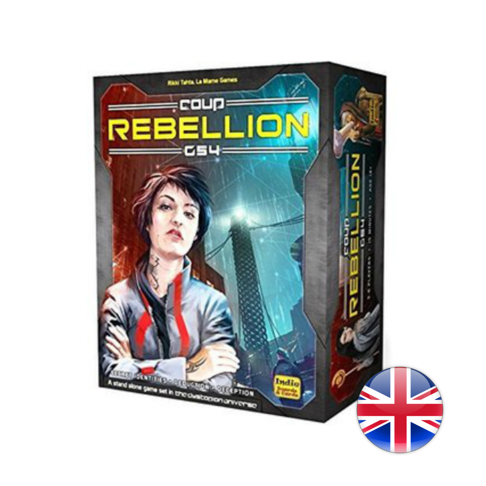 Indie Boards and Cards Coup Rebellion G54