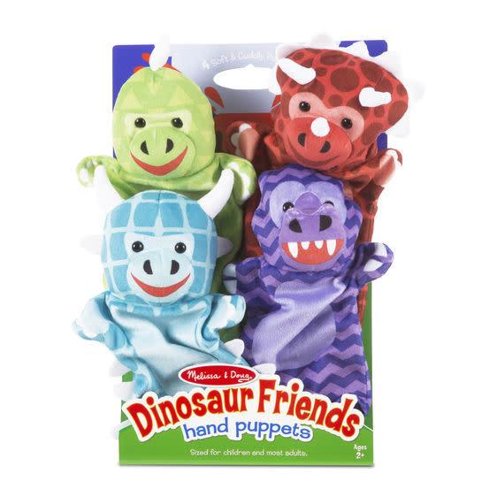Melissa & Doug Dinosaur Friends Hand Puppets - Marionettes
