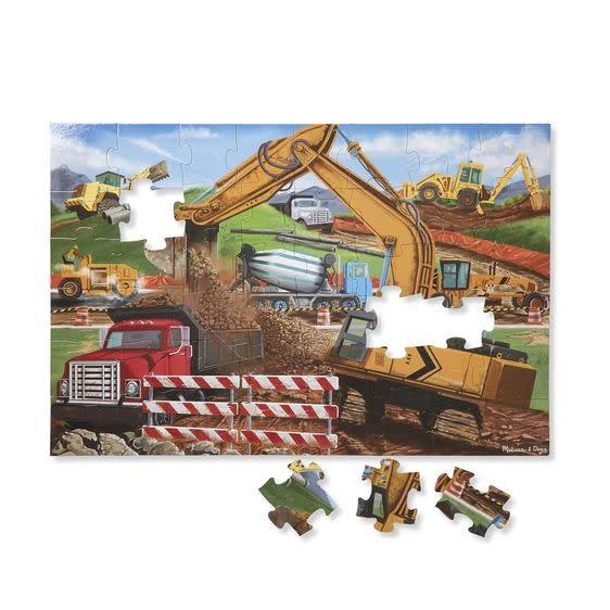 Melissa & Doug Puzzle plancher 48: Building Site