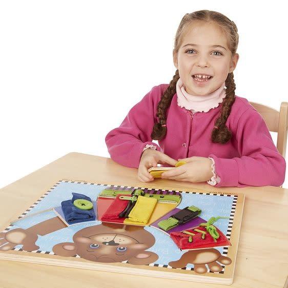 Melissa & Doug Basic Skills Puzzle Board