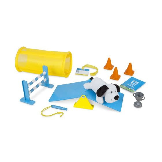 Melissa & Doug Tricks & Training Puppy School Play Set