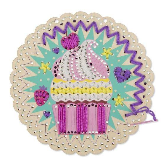 Melissa & Doug Stitch by Color - Cute Cupcake