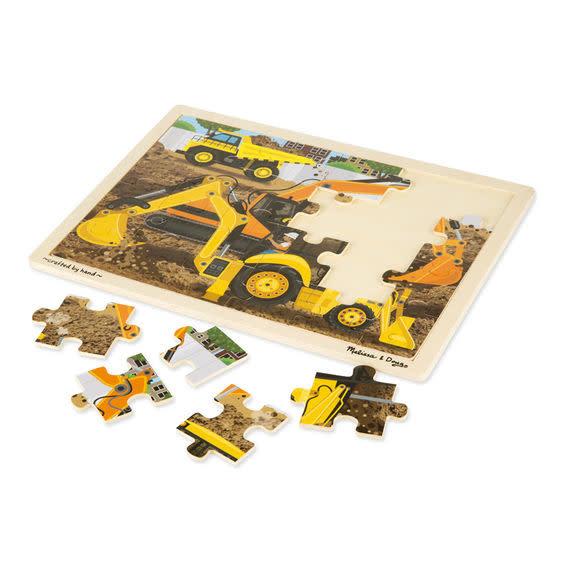 Melissa & Doug Puzzle 24: Diggers at Work