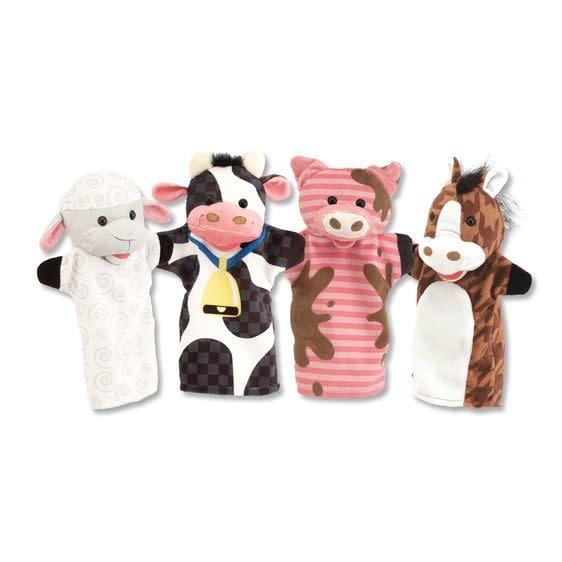 Melissa & Doug Farm Friends Hand Puppets