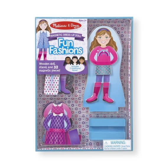 Melissa & Doug Fun Fashions Magnetic Dress-Up Set