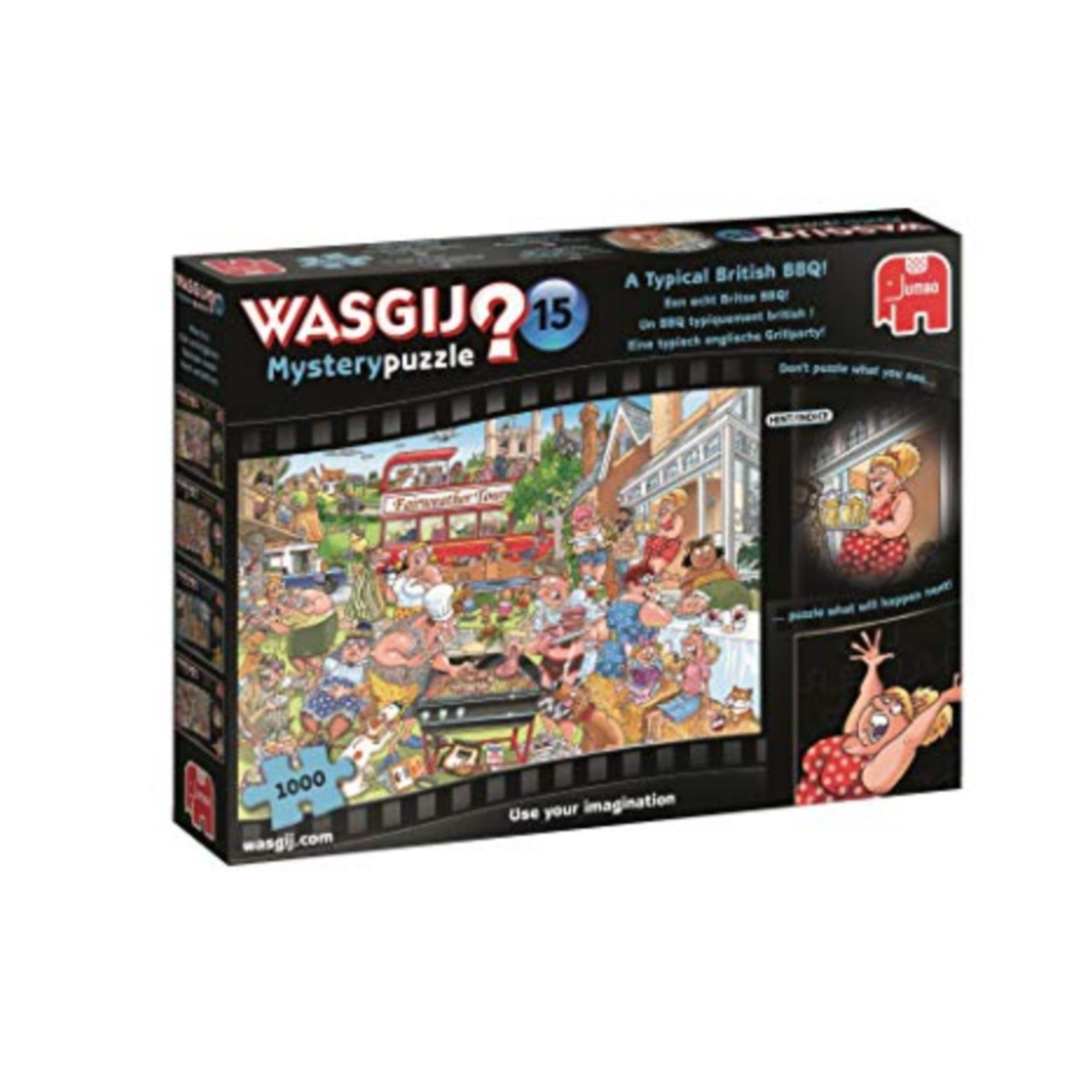 Wasgij Puzzle 1000: Wasgij Mystery #15 - BBQ typiquement british