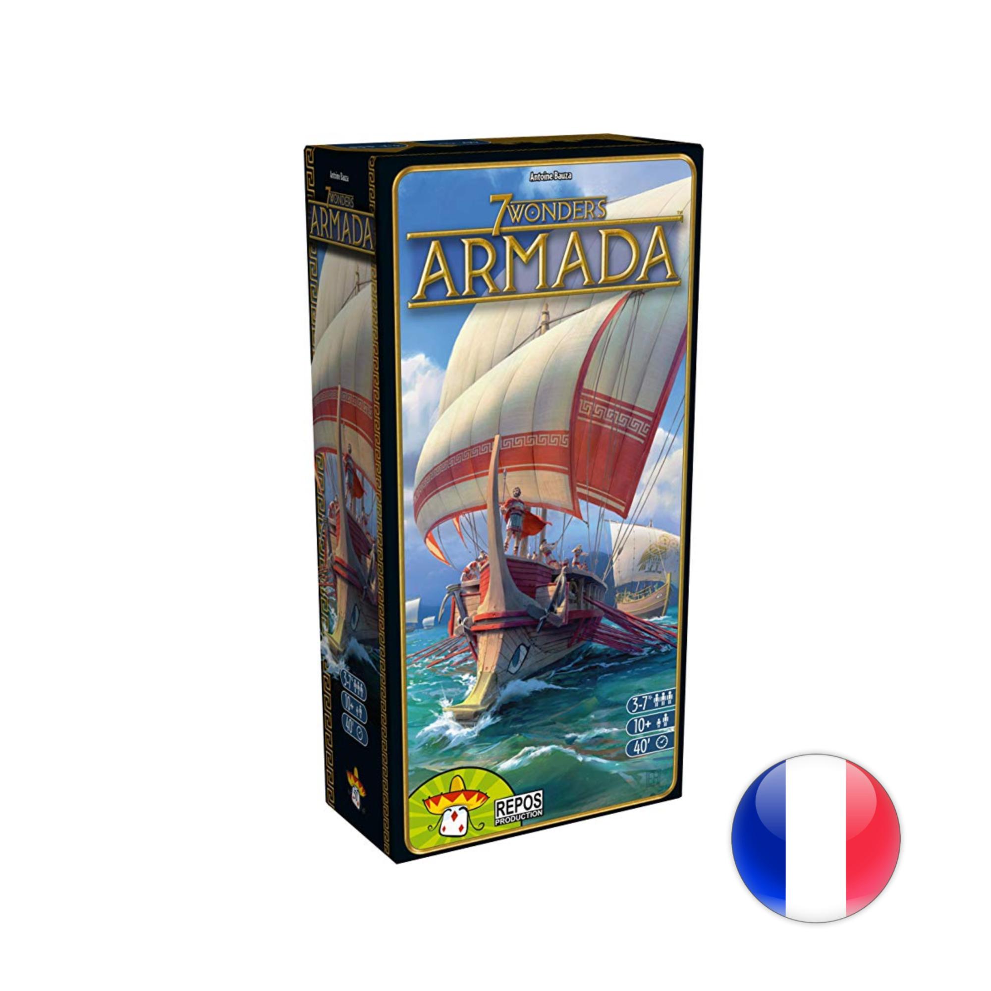 Asmodee 7 Wonders Armada VF