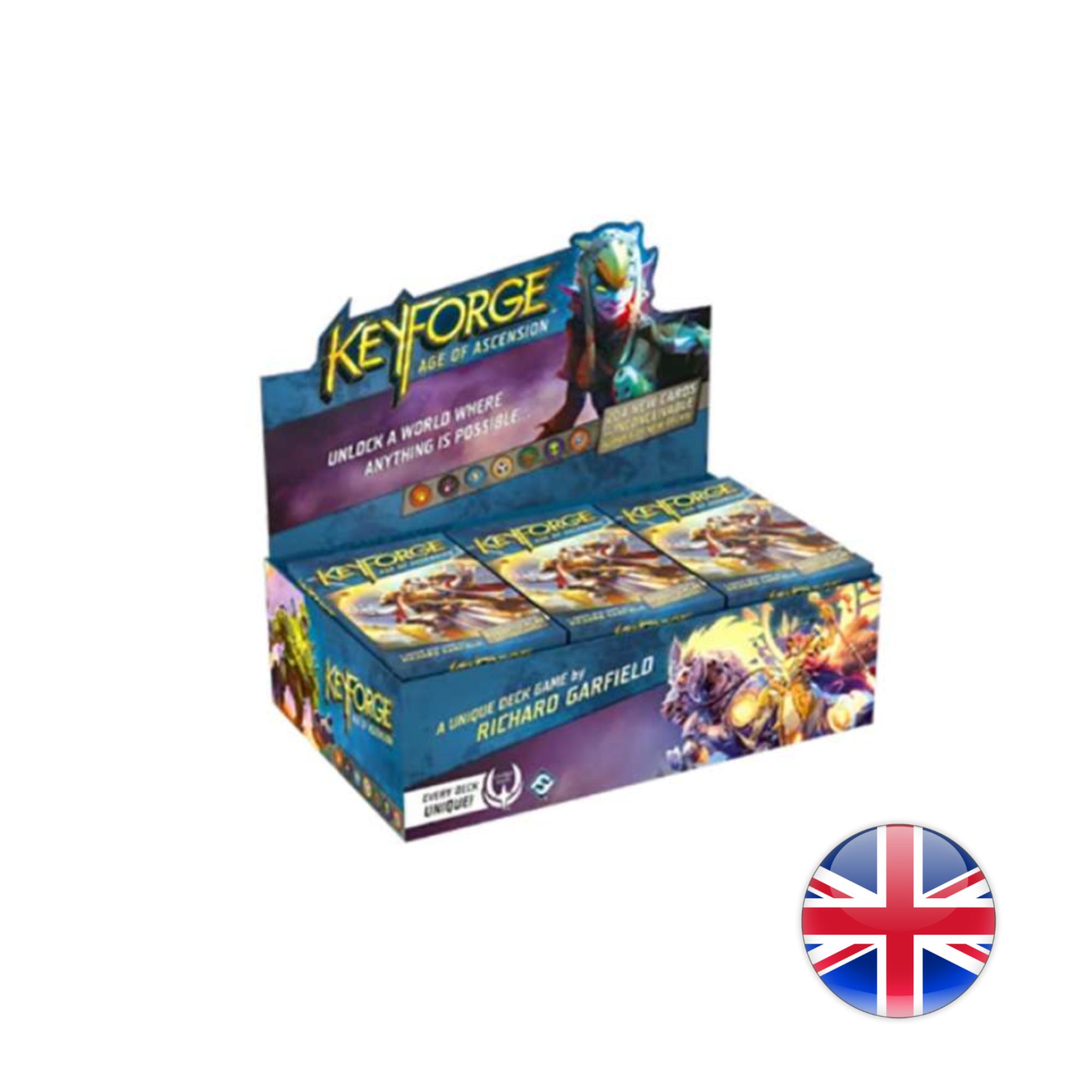 Fantasy Flight Games Keyforge: Age of Ascension Deck Display