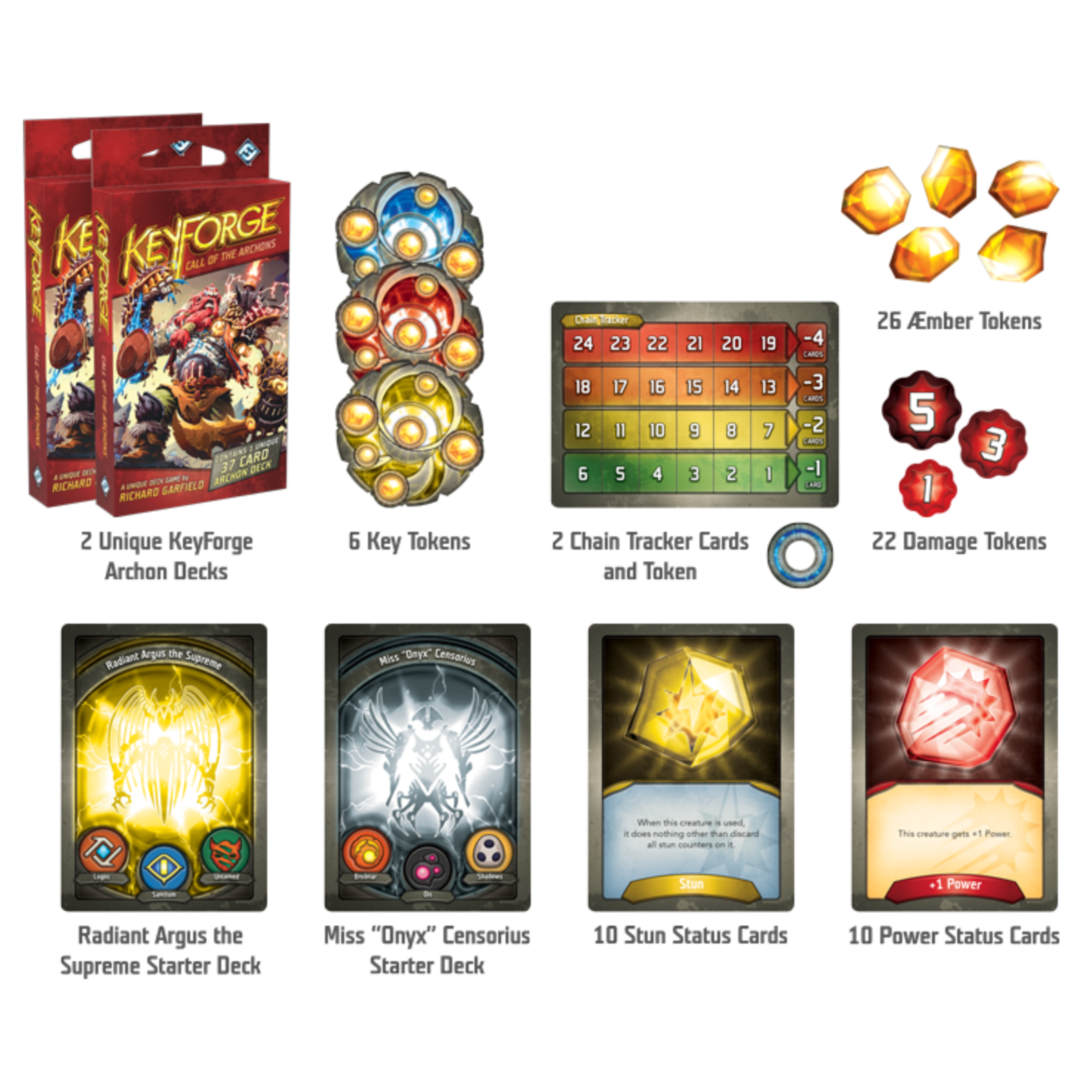 Fantasy Flight Games Keyforge : Call of the Archons Starter