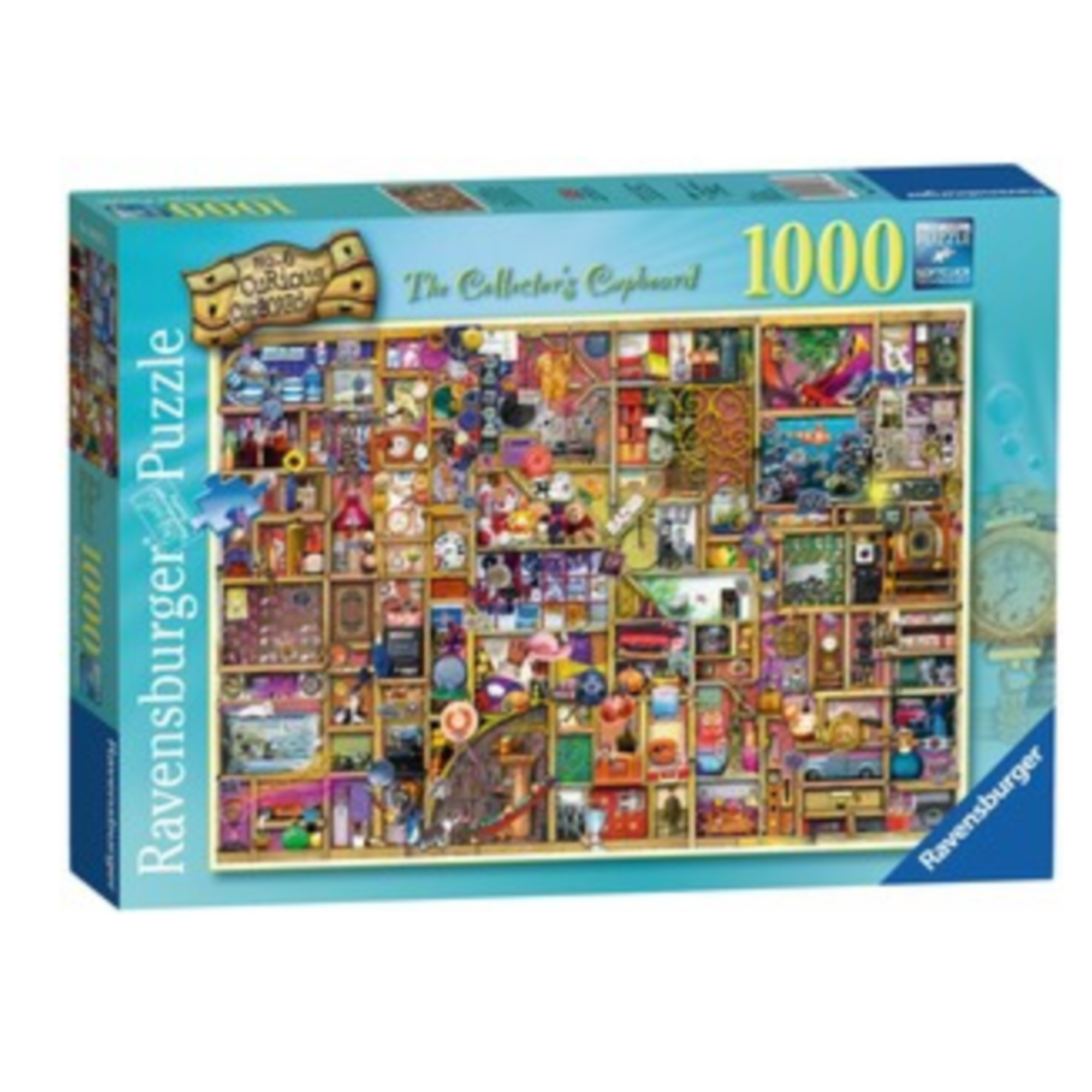 Ravensburger Puzzle 1000: L'armoire du collectionneur / Colin Thompson