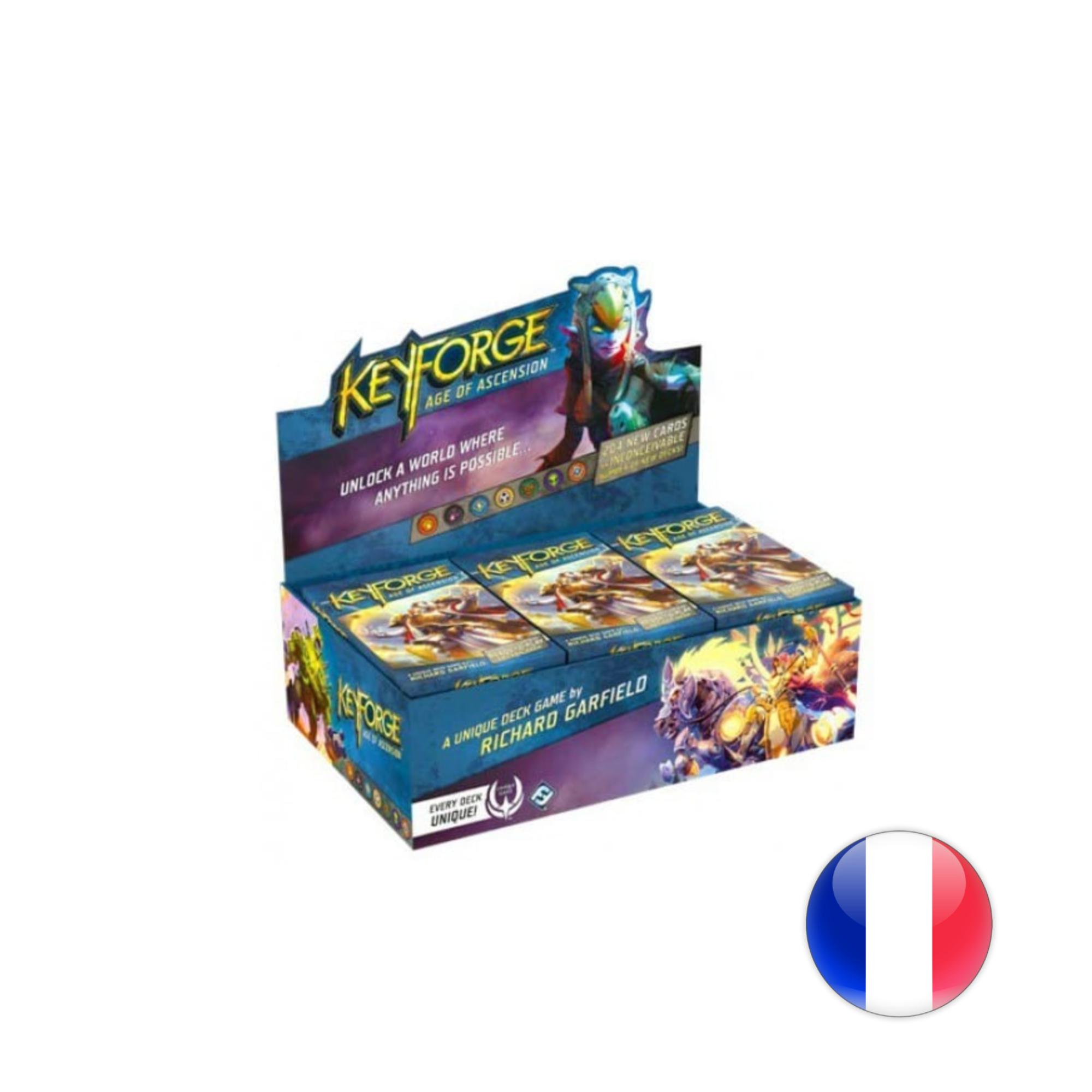 Fantasy Flight Games Keyforge: L'âge de l'ascension - Boîte VF
