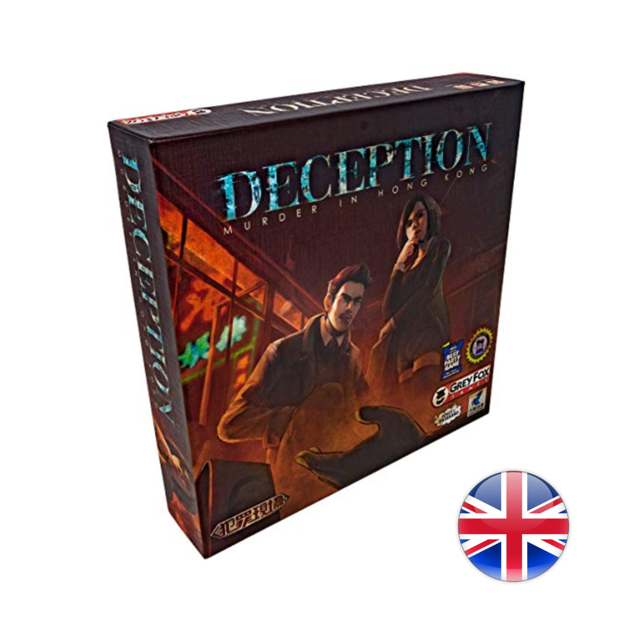 Grey Fox Games Deception: Murder in Hong-KONG