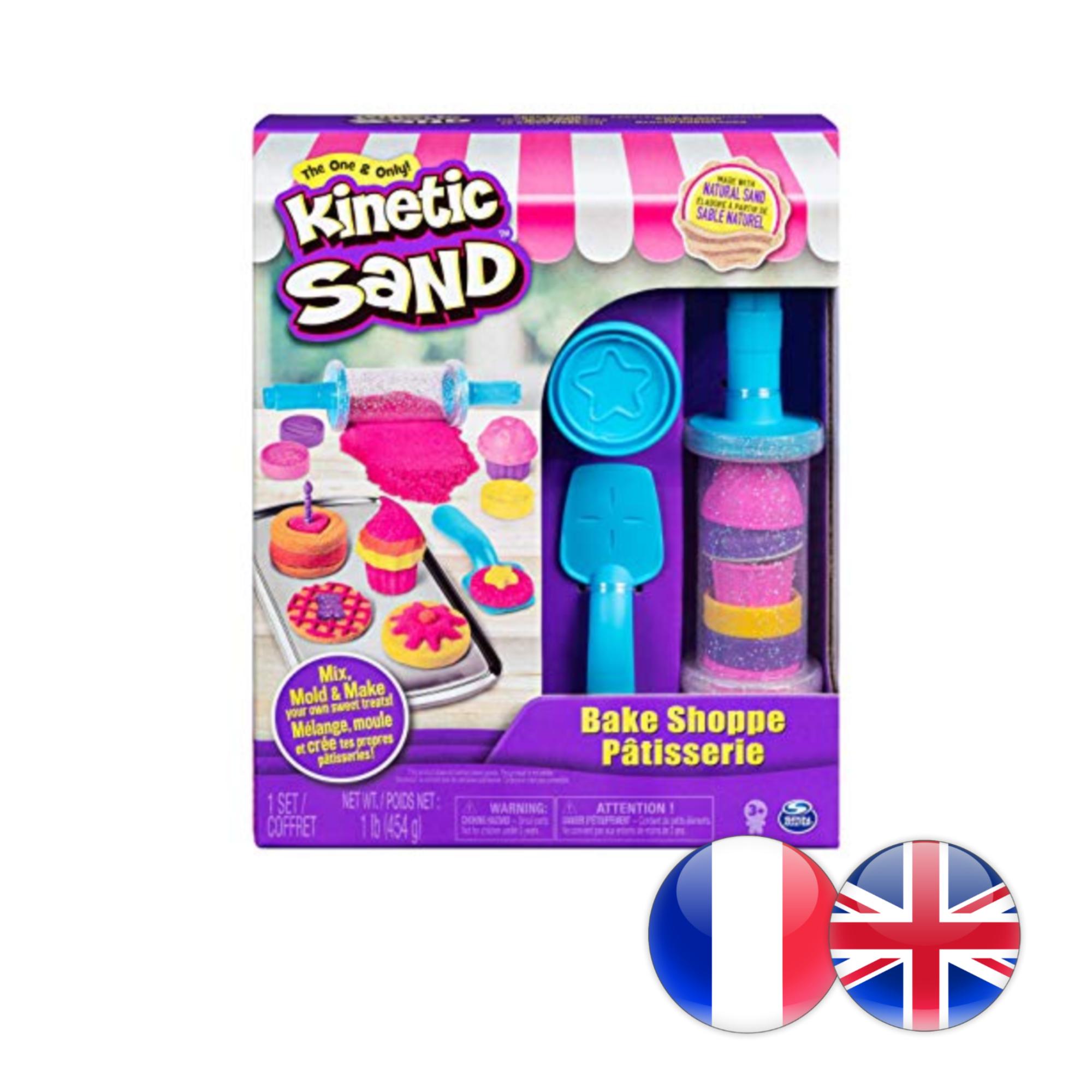 Kinetic Sand Kinetic Sand - Coffret Pâtisserie