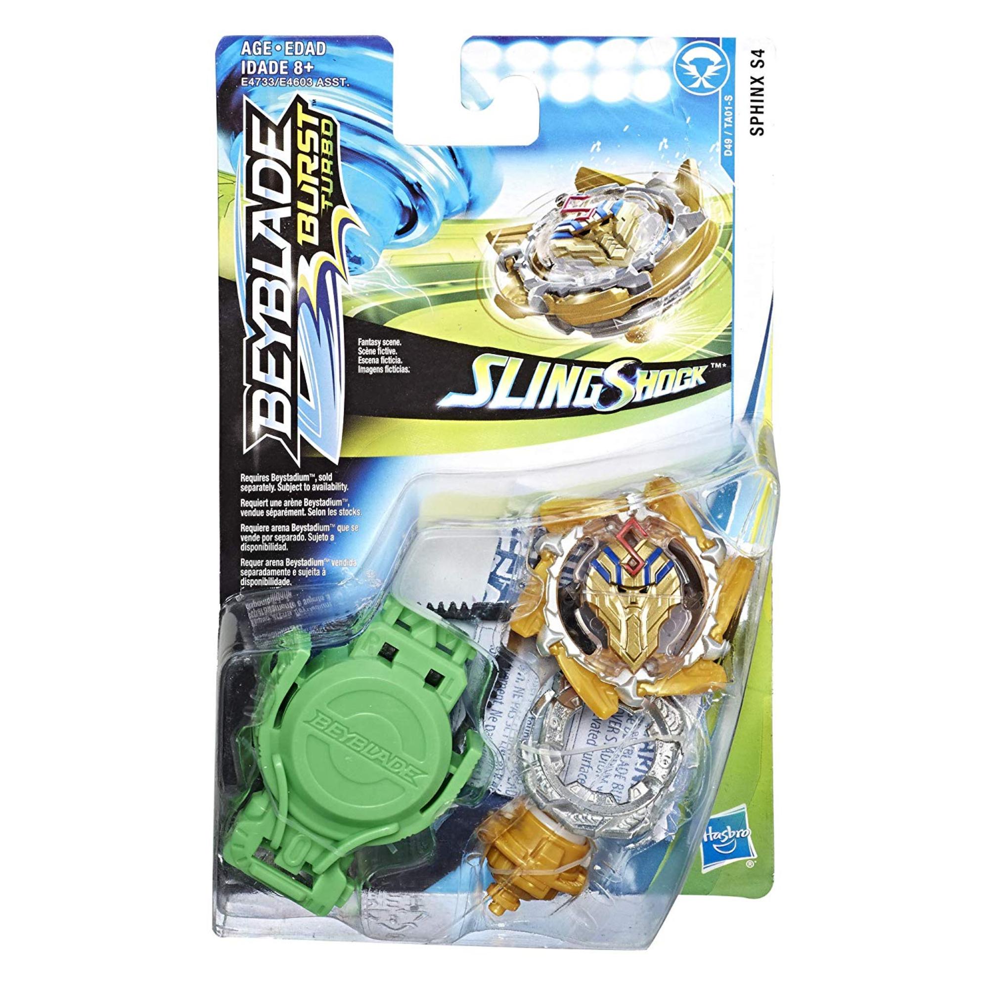 Hasbro Games Beyblade ens. départ Slingshock (Sphinx S4)