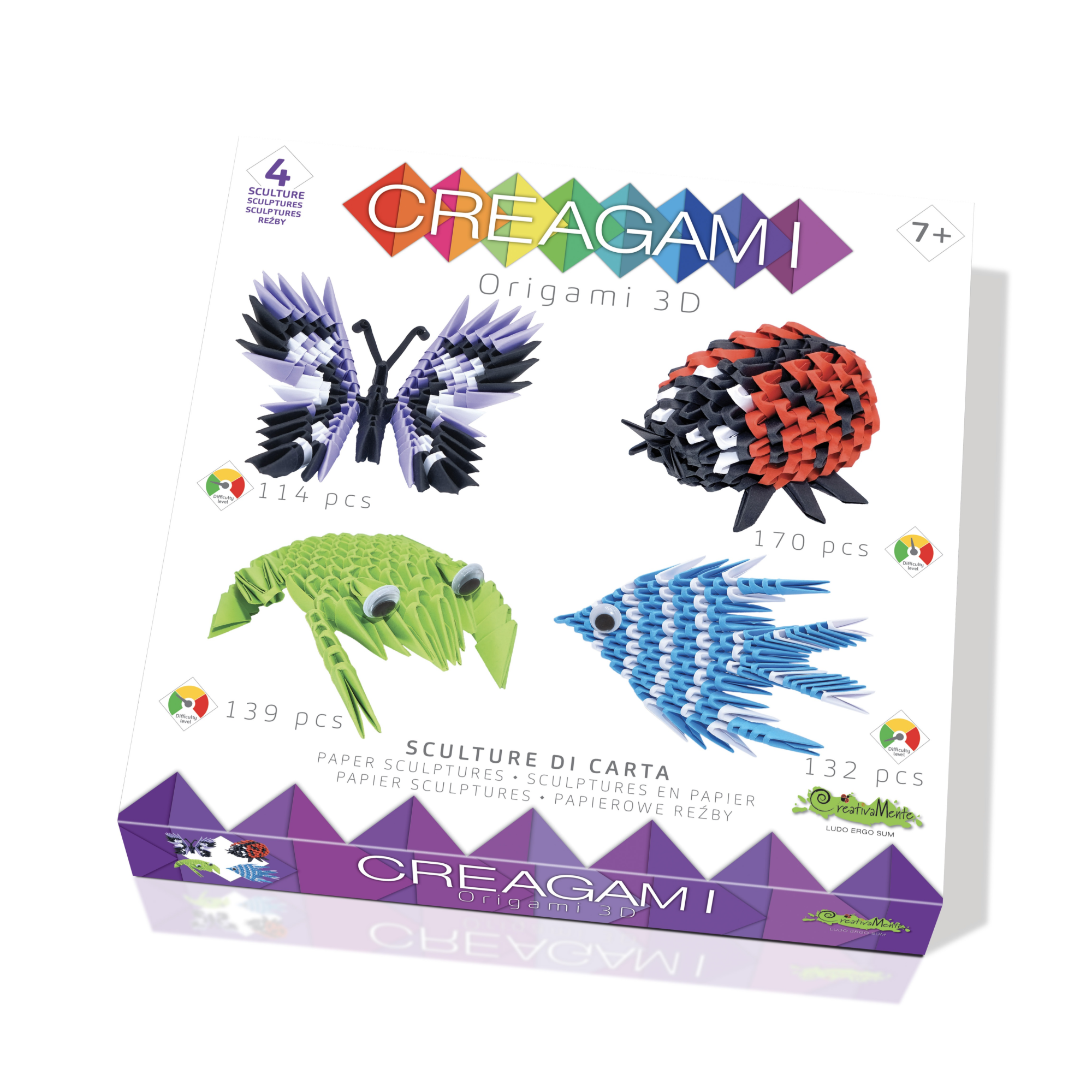 Creagami Creagami, ensemble de 4, 555 mcx