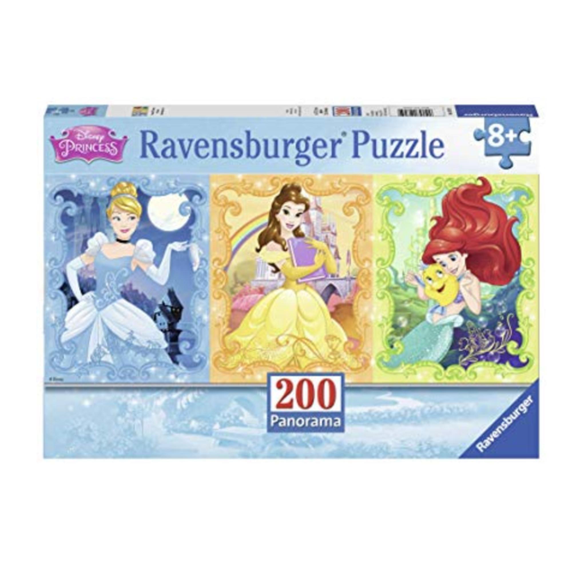 Ravensburger Puzzle 200 Panorama: Jolies princesses Disney