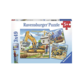 Ravensburger Puzzle 3 x 49: Grands véhicules de construction
